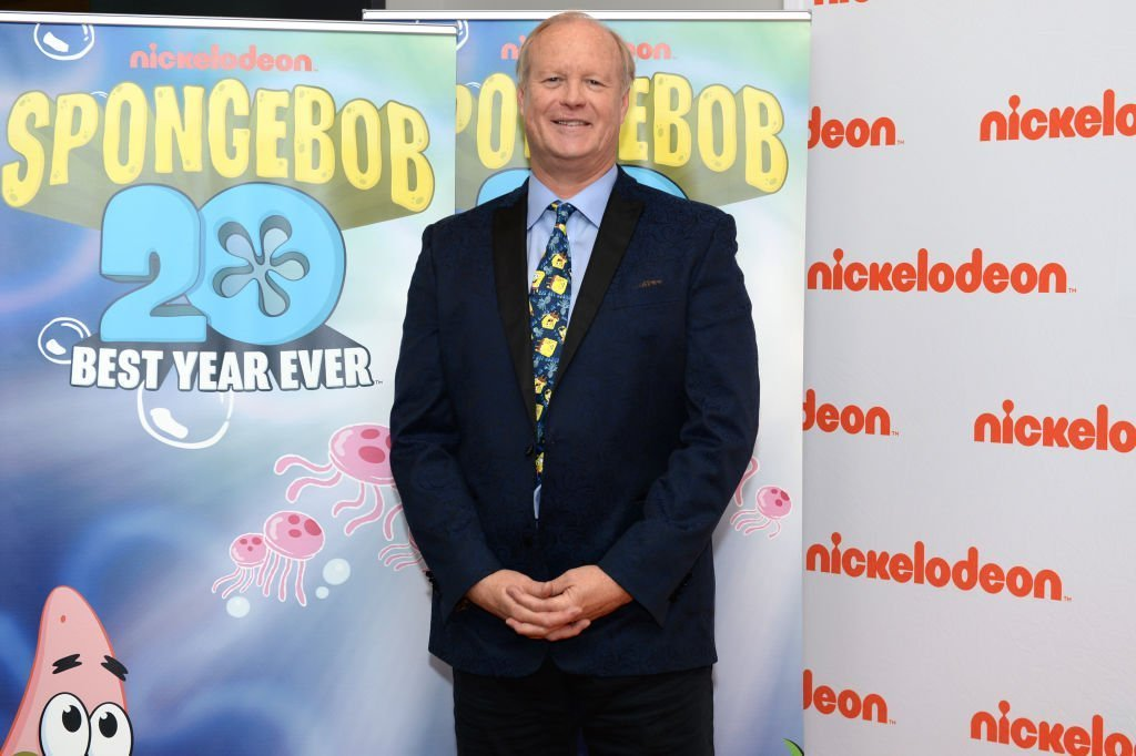 Bill Fagerbakke (Patrick Star) of Nickelodeon's SpongeBob SquarePants attends the 20th anniversary special screening and press junket in Burbank, California | Photo: Getty Images