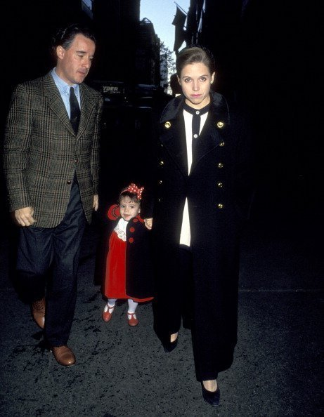 Katie Couric, husband Jay Monahan and daughter | Photo: Getty Images