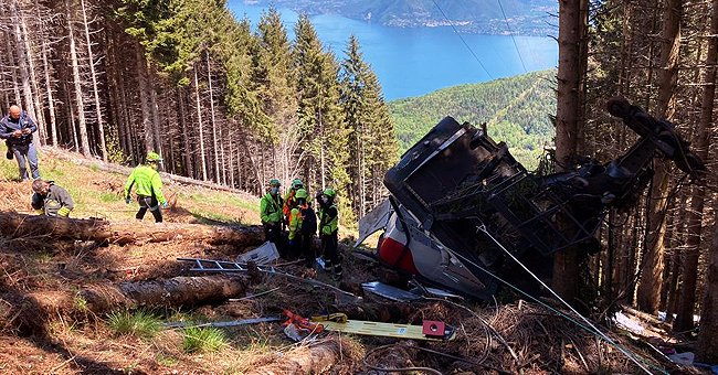 Italian Cable Car Falls to the Ground Leaving at Least 14 People Dead, Including 1 Child