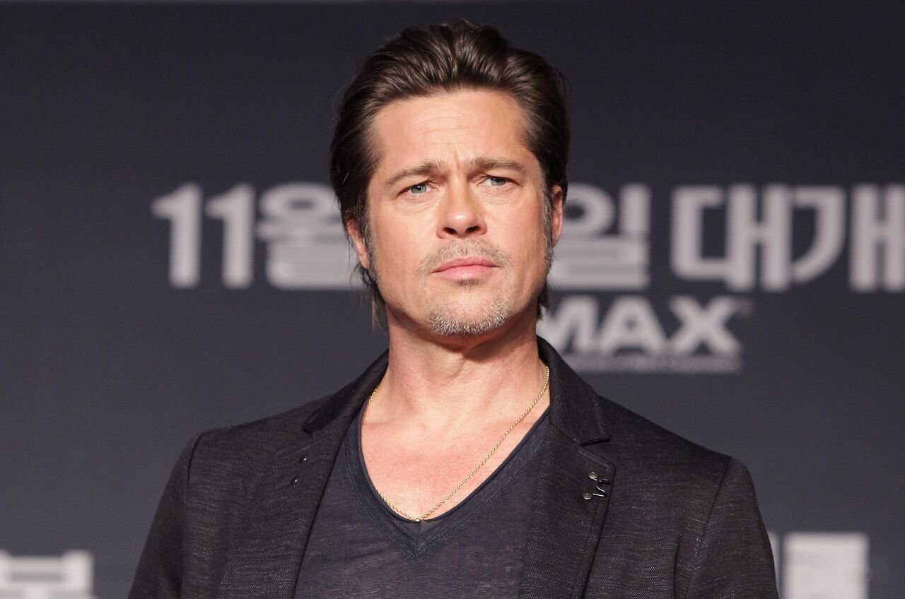 Brad Pitt attends the 'Fury' Press Conference at Conrad Hotel on November 13, 2014 in Seoul, South Korea   Photo: Getty Images