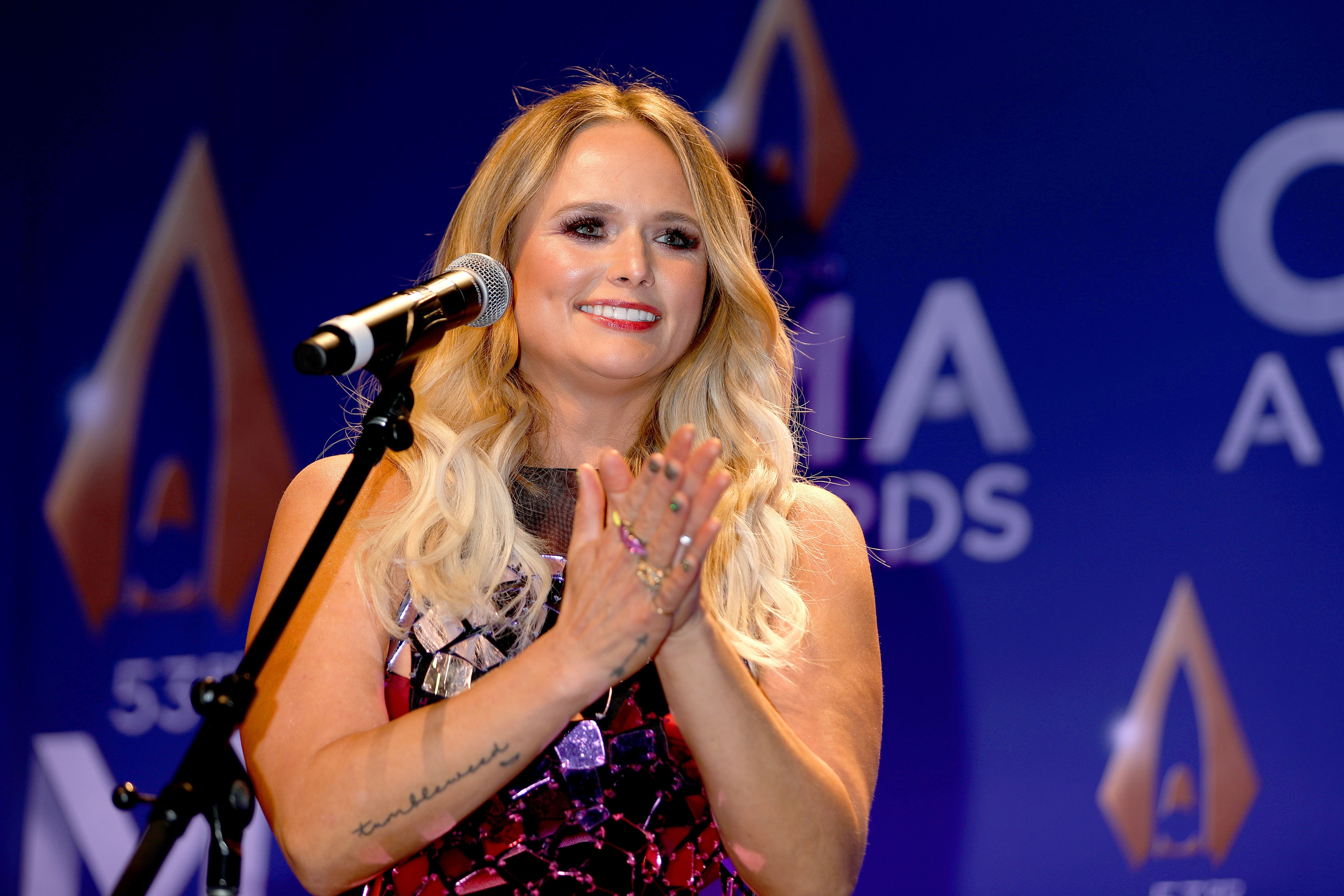 Miranda Lambert during the 53rd annual CMA Awards at the Bridgestone Arena on November 13, 2019 in Nashville, Tennessee. | Source: Getty Images