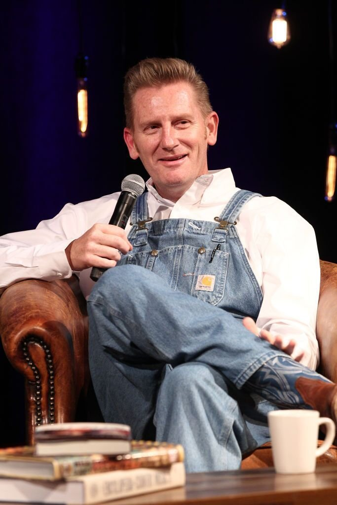 Singer-songwriter Rory Feek discusses his career and new book 'This Life I Live' at Country Music Hall of Fame and Museum on March 11, 2017 in Nashville, Tennessee. | Photo: Getty Images