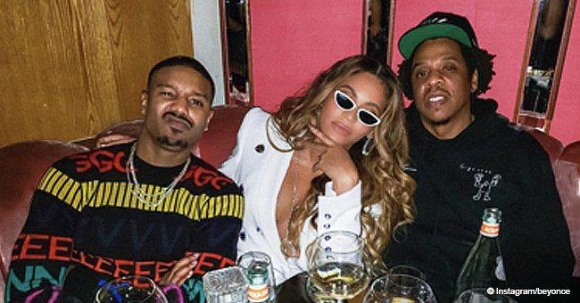 Beyoncé shares photos from Michael B. Jordan's birthday party and her braless outfit is too fierce