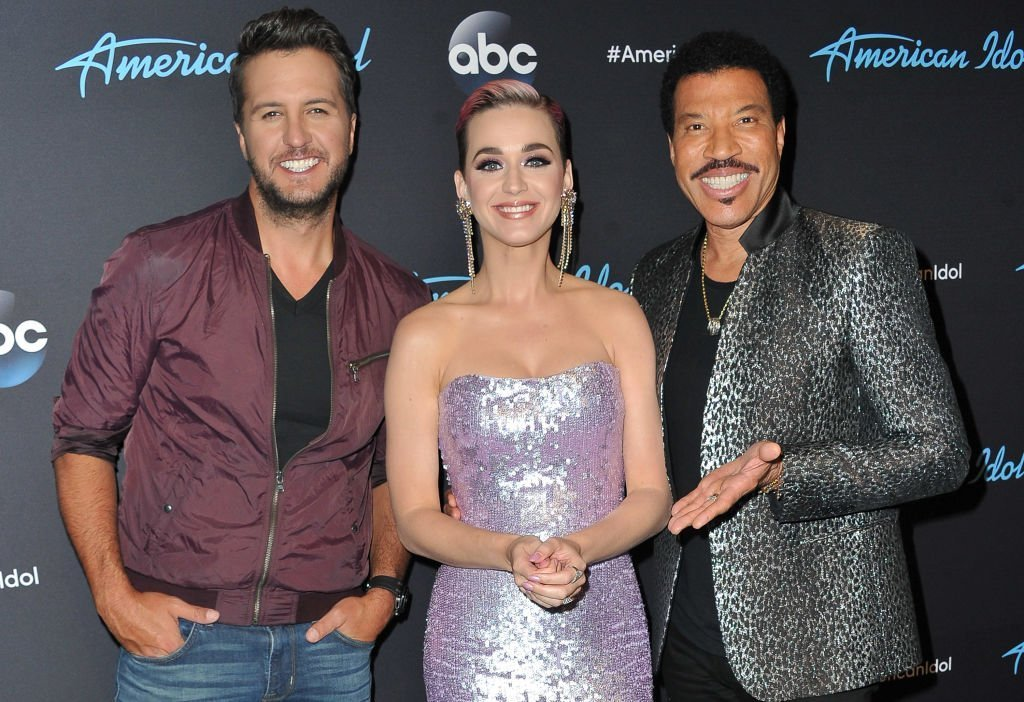 Judges Luke Bryan, Katy Perry and Lionel Richie arrive at ABC's 'American Idol' show | Photo: Allen Berezovsky/Getty Images