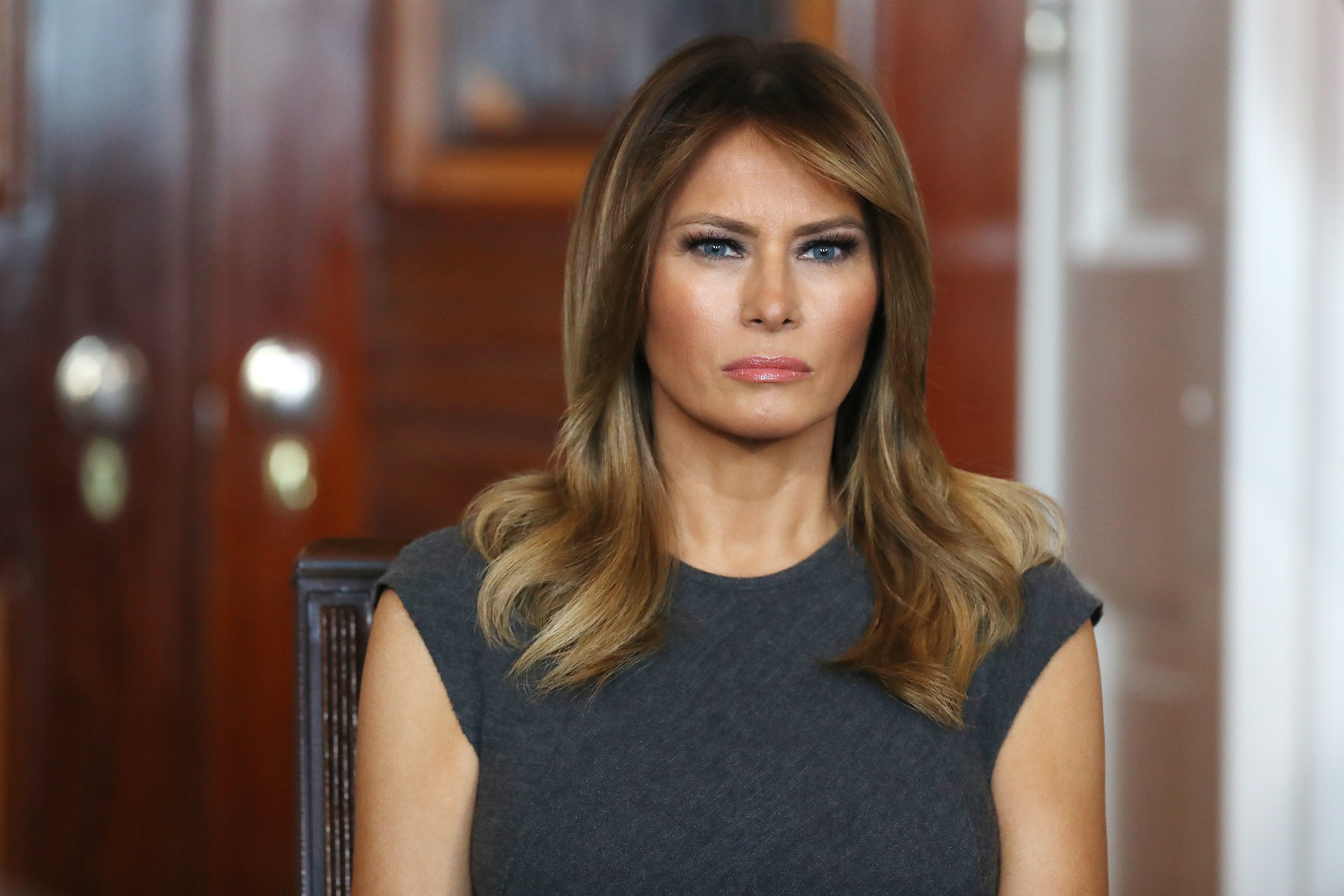 Melania Trump at the White House October 09, 2019, in Washington, DC. | Source: Getty Images.