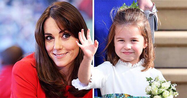 Kate Middleton parle de la lutte qu'elle a eue avec les cheveux de la princesse Charlotte