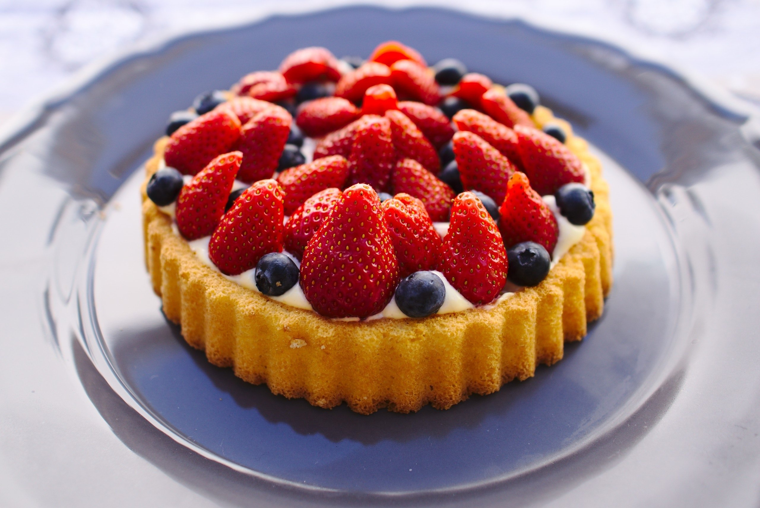 A picture of blueberry cake   Photo: Pixabay