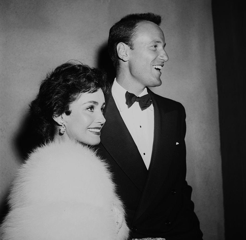 Actress Susan Cabot with guest attend a premiere in Los Angeles, California. | Photo: Getty Images