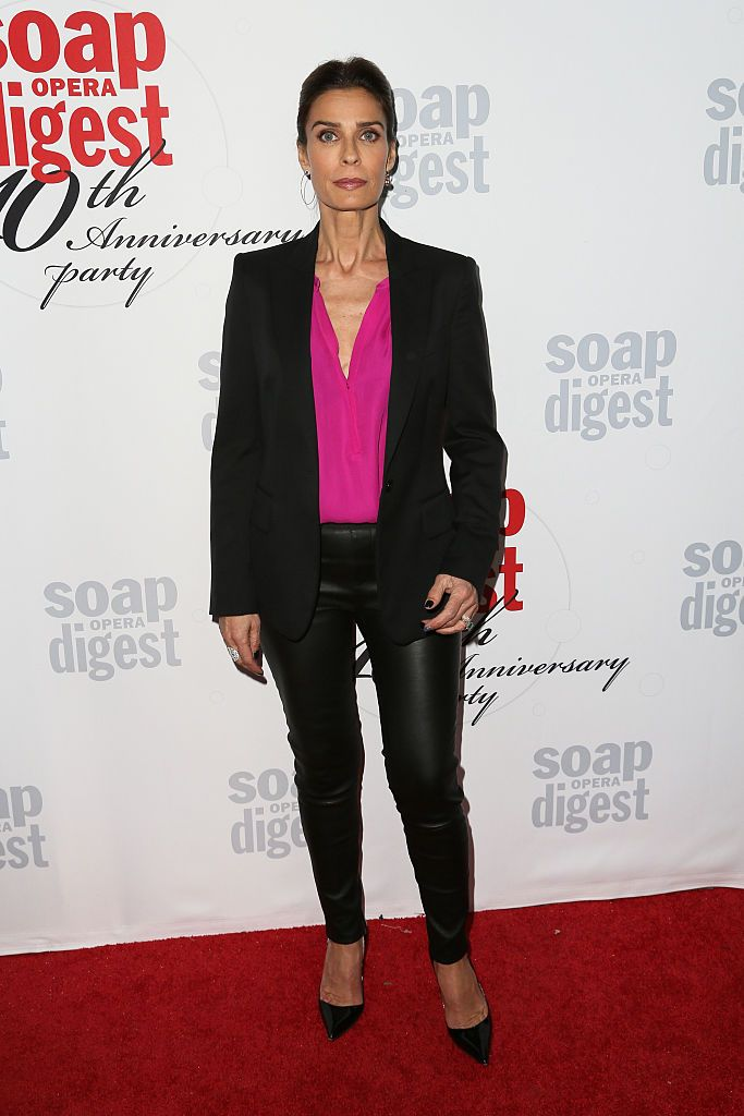 Kristian Alfonso at the 40th Anniversary of the Soap Opera Digest on February 24, 2016, in Hollywood, California | Photo: David Livingston/Getty Images