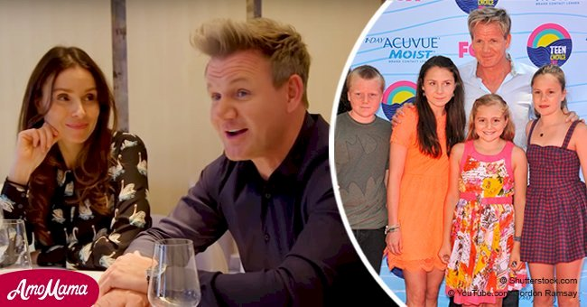 Gordon Ramsay is ready to cry after seeing a surprise dinner his kids made for his 50th birthday