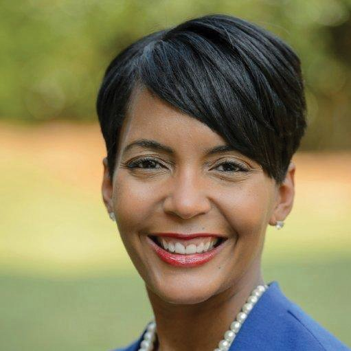 Official portrait of Atlanta's 60th Mayor Keisha Lance Bottoms/ Source: Wikimedia