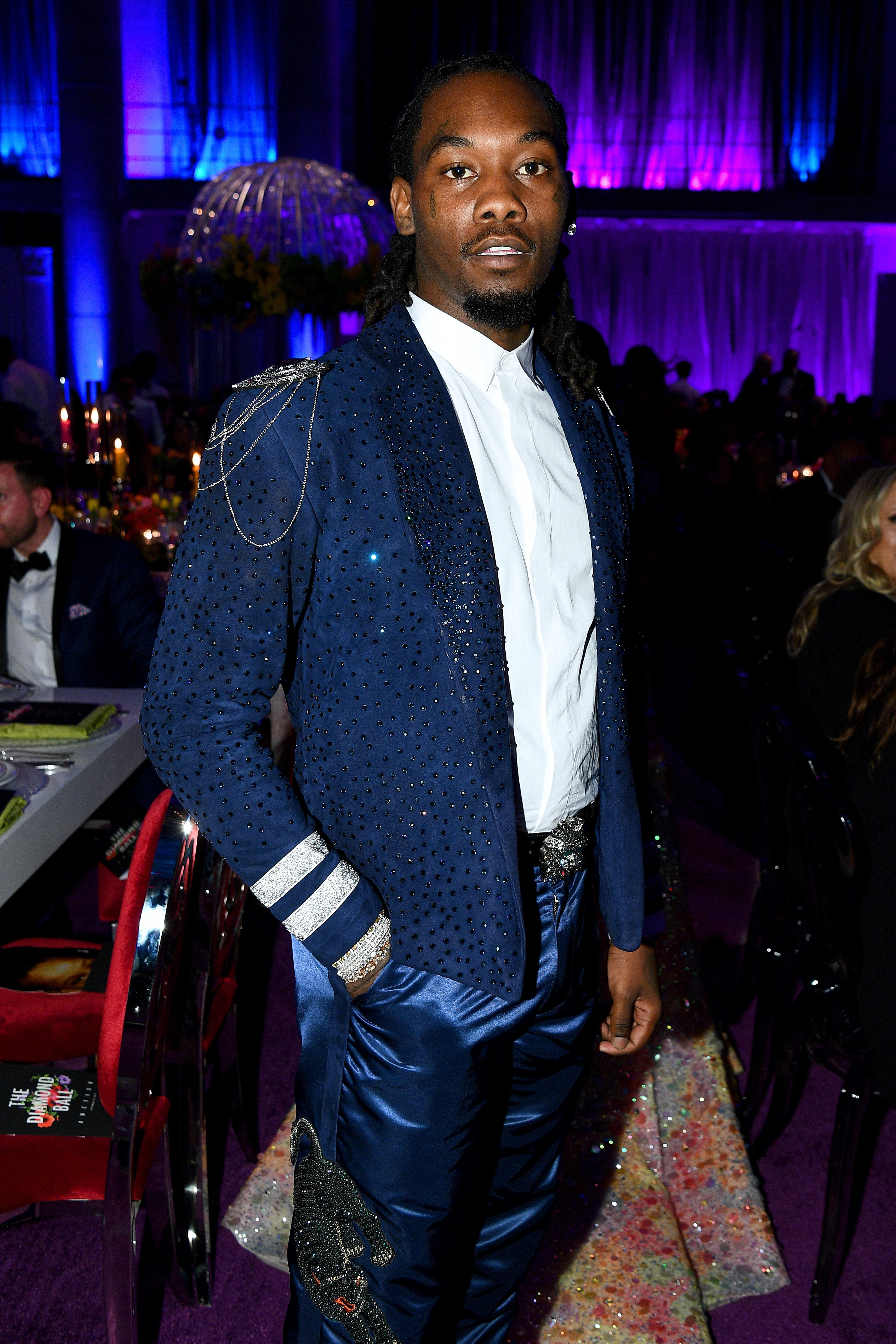 Offset at Rihanna's 5th Annual Diamond Ball in New York City in September 2019 | Photo: Getty Images