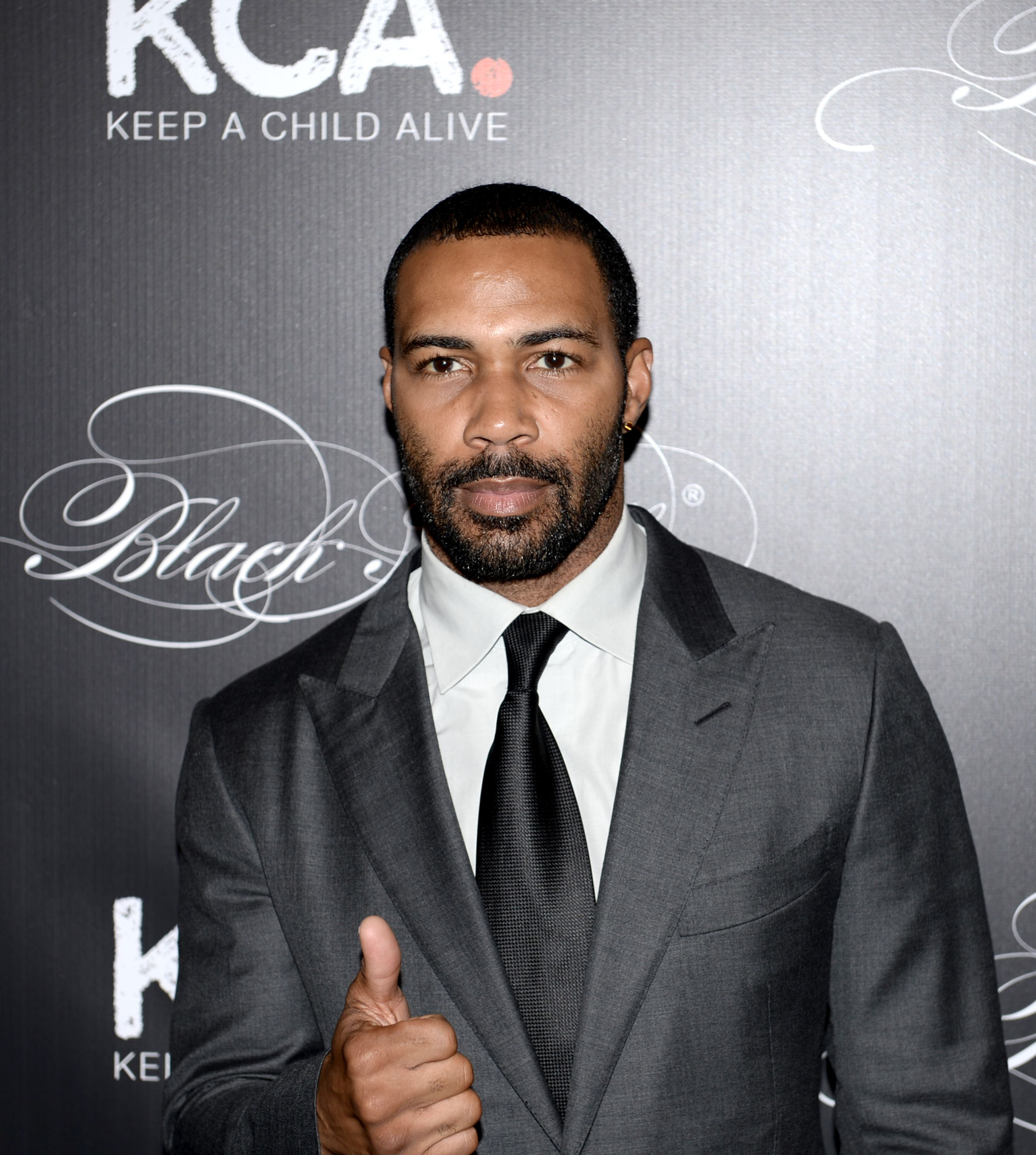 Omari Hardwick at the Keep a Child Alive's 13th annual Black Ball in 2016 in New York City | Source: Getty Images