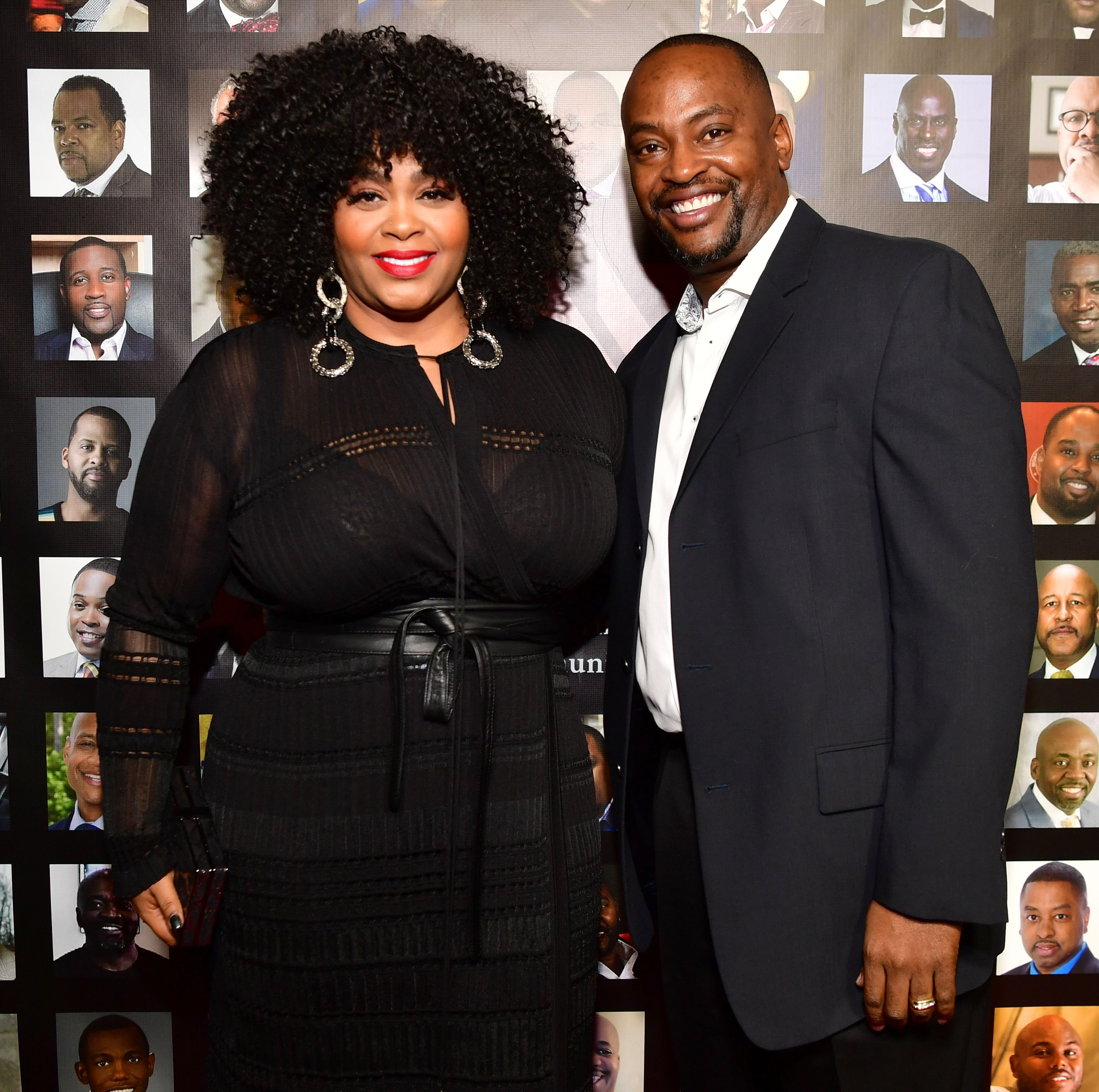 """Jill Scott and Mike Dobson at the """"The Made Man Awards 2017"""" in Atlanta, Georgia 