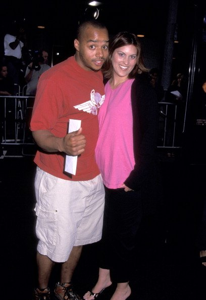 Donald Faison and Lisa Askey at Mann National Theatre in Westwood, California, United States in 2001. | Photo: Getty Images