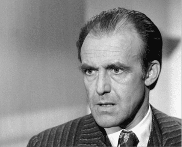 """Richard Bull as Nels Oleson on Episode 16 of """"Little House on the Prairie"""" - """"Family Quarrel"""" aired 01/15/1975   Source: Getty Images"""