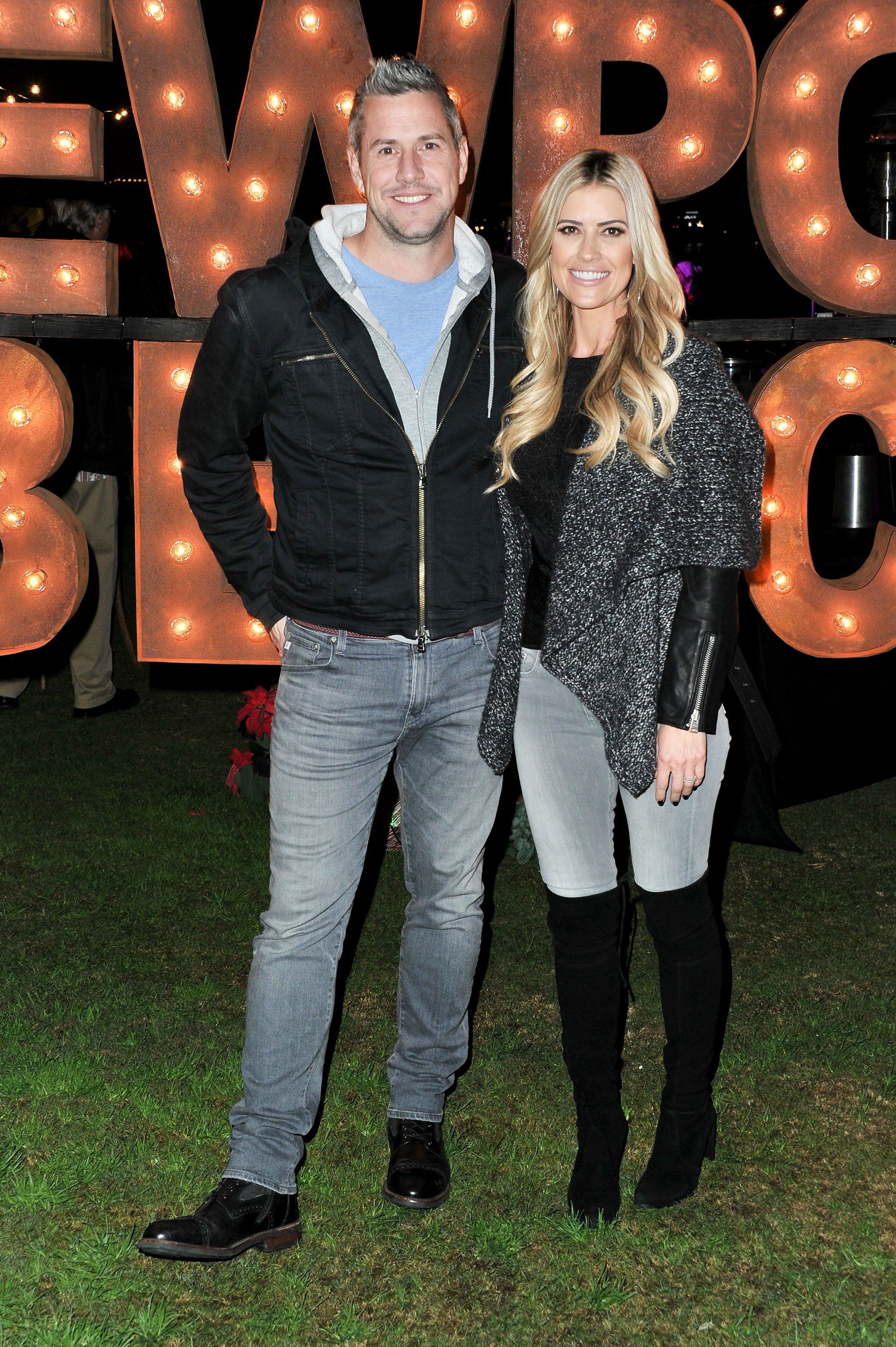 Christina Anstead and Ant Anstead at the 111th Annual Newport Beach Christmas Boat Parade opening night on December 18, 2019. | Photo: Getty Images.