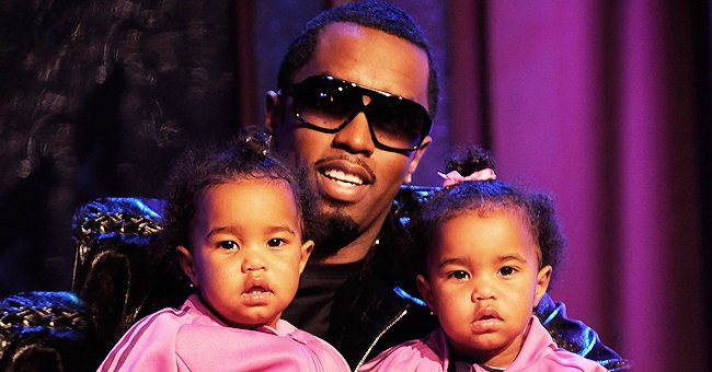 Diddy's Twins Prove They Are Native New Yorkers Posing in Matching Jackets & Shorts - See Their Fashionable Look