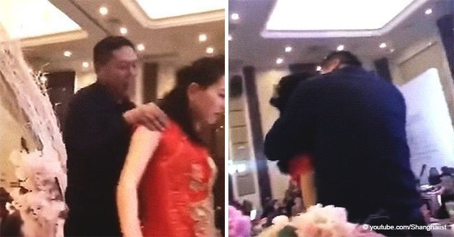 Father-in-Law Grabbed Bride for a Forced Kiss, Ruining the Wedding in the Process