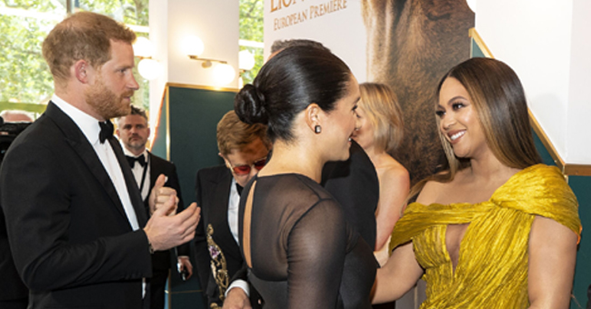 Meghan Markle Shares Warm Hugs with Beyoncé at UK's 'Lion King' Premiere