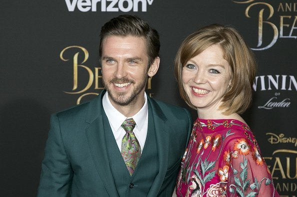 Dan Stevens and Susie Hariet attend the World Premiere of Disney's 'Beauty And The Beast' on 02 March 2017 | Photo: Getty Images