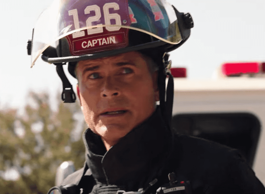 "Actors Rob Lowe from the series ""9-1-1: Lone Star."" 