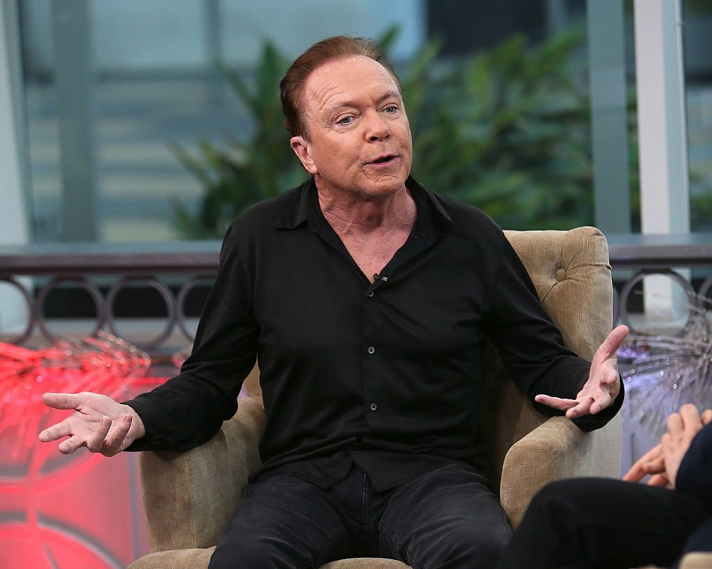 David Cassidy attends Hollywood Today Live at W Hollywood on December 14, 2016, in Hollywood, California. | Source: Getty Images.