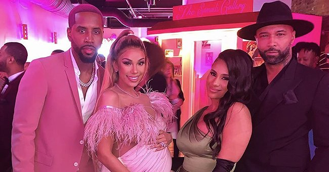 Joe Budden and Cyn Santana Reunite for Safaree & Erica Mena's Baby Shower 6 Months after Their Breakup