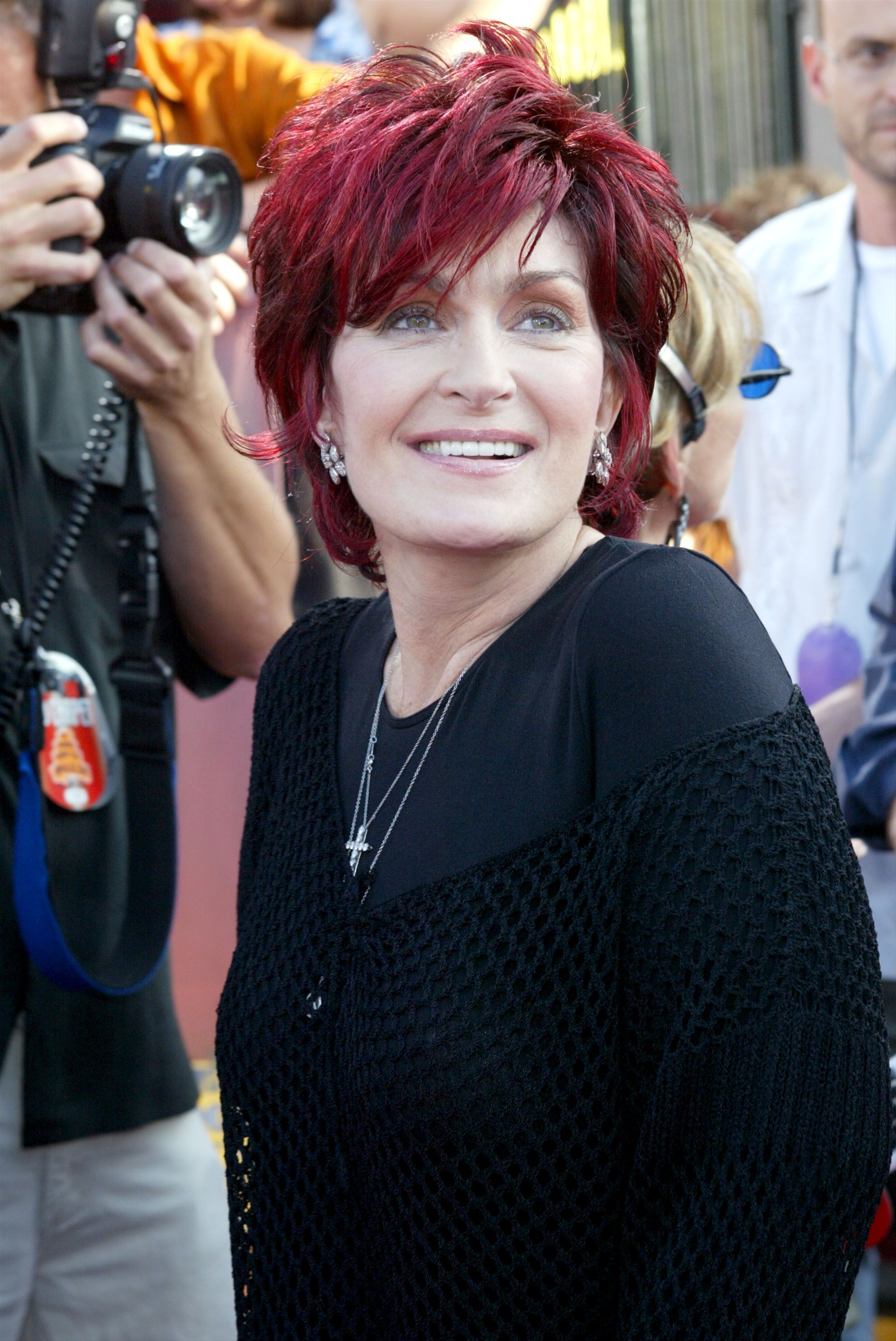 Sharon Osbourne during the 2002 MTV Movie Awards at The Shrine Auditorium June 1, 2002. | Source: Getty Images