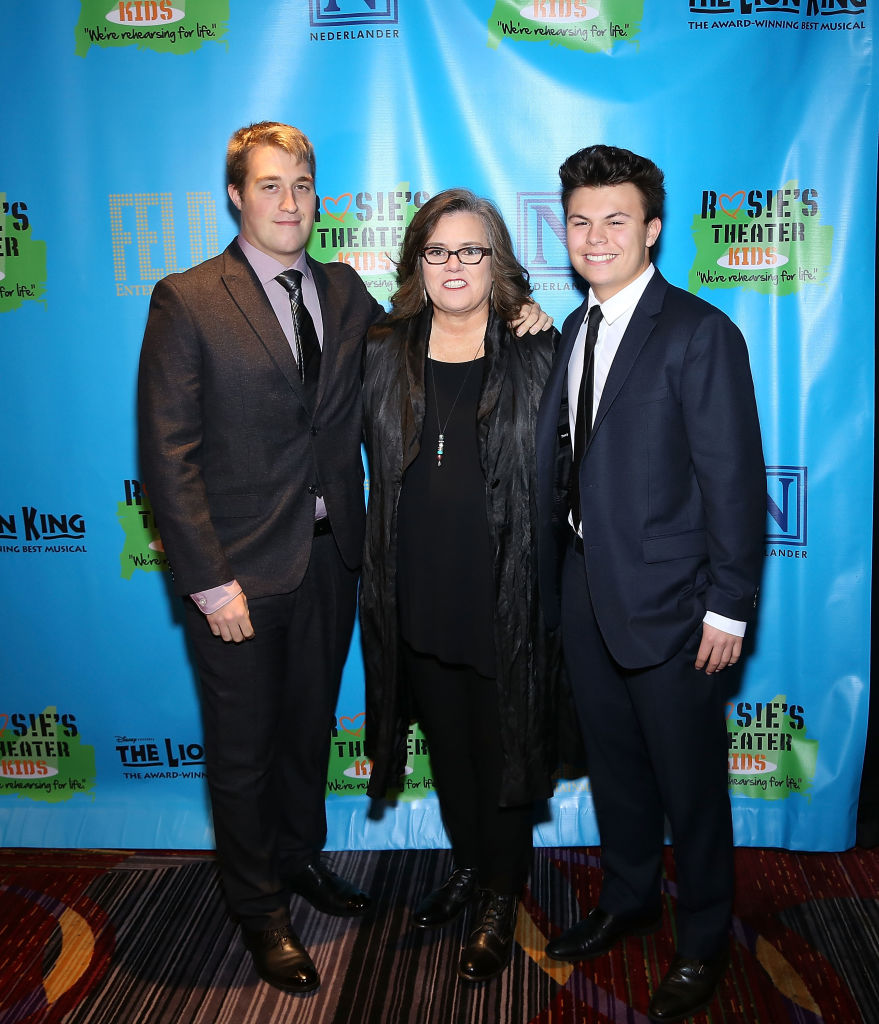 Image Credist:Getty Images/ Parker Jaren O'Donnell, Rosie O'Donnell and Blake O'Donnell