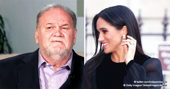 Meghan Markle's Father Thomas Reportedly Breaks Silence over the Royal Baby's Arrival
