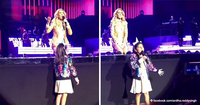 7-Year-Old Gets the Chance of a Lifetime to Sing at a Céline Dion Concert and Blows Everyone Away