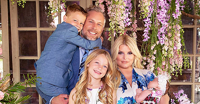Singer Jessica Simpson's Baby Daughter Birdie Mae Is 'Little Lady' in Turban in Pic with Mom