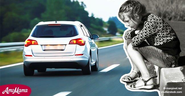 Un père abandonne son enfant de 9 ans sur le bord de la route pour lui donner une leçon, mais à son retour, elle n'y était plus