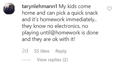 Mother give Jennifer Arnold advice on a good homework routine | Source: instagram.com/jenarnoldmd