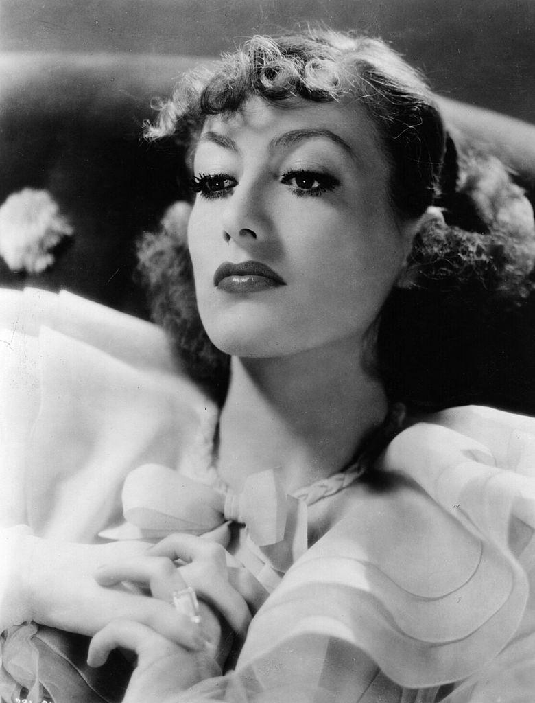 Joan Crawford, protagonista americana y estrellas duradera de Hollywood.  Fuente: Getty Images