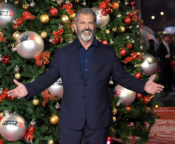 Mel Gibson attends the UK Premiere of 'Daddy's Home 2 | Photo: Getty Images