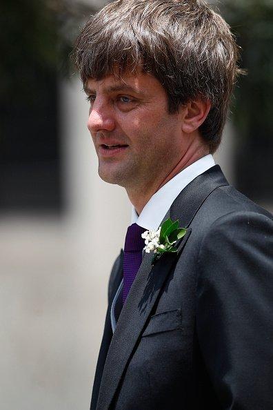 Ernst August von Hannover auf der Hochzeit von Prinz Christian von Hannover, Peru, 2018 | Quelle: Getty Images
