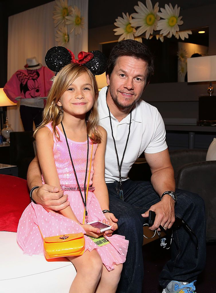Mark Wahlberg and daughter Ella at the 2013 Radio Disney Awards in Los Angeles | Source: Getty Images