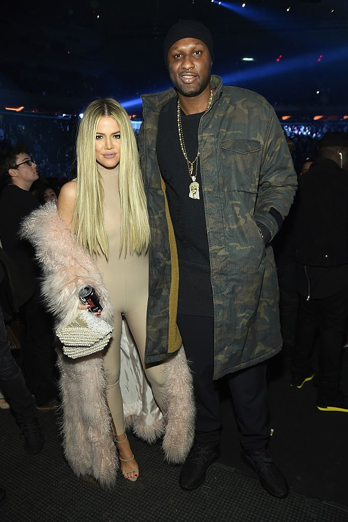 Khloe Kardashian and Lamar Odom attend Kanye West Yeezy Season 3 on February 11, 2016 in New York City. | Photo: GettyImages