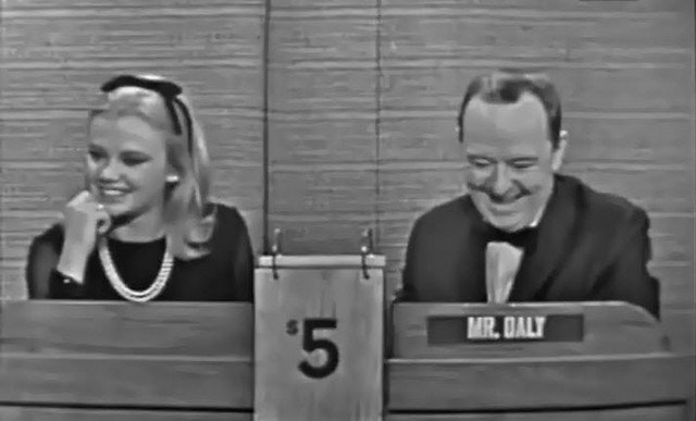 "Hayley Mills on the popular American game show ""What's My Line?"" 