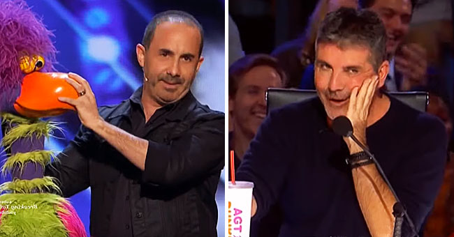 Simon Cowell's Hilarious Reaction to a Ventriloquist Comedian's Audition