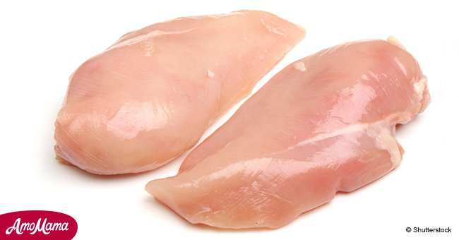 Customer discovers green-colored flesh in chicken breast bought from popular supermarket