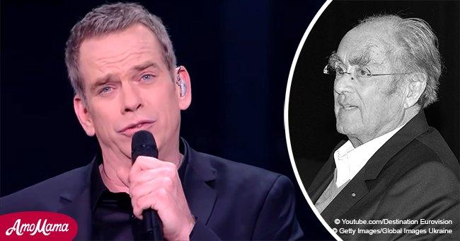 Garou n'a pas pu retenir ses larmes, en rendant un hommage émouvant à Michel Legrand dans Eurovision