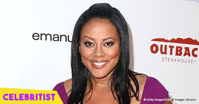 'Waiting to Exhale's Lela Rochon stuns in black gown posing with daughter on her 16th birthday