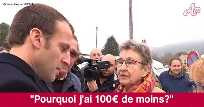 À Saint-Sozy, un retraité interpelle violemment Emmanuel Macron au sujet de sa retraite
