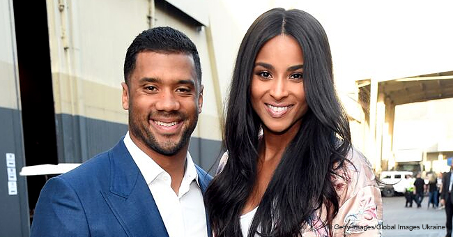 Ciara & Russell Wilson's Baby Girl Sienna Sparks Joy in Black Dress & Floppy Hat in Precious Video