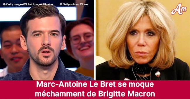 Marc-Antoine Le Bret se moque méchamment de Brigitte Macron sur France 2, le public est mal à l'aise