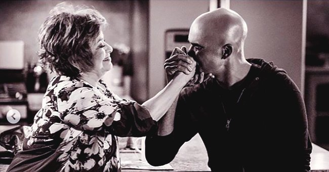 Shemar Moore from SWAT Posts Photos with His On-Screen Mom Debbie Allen on Her 70th Birthday