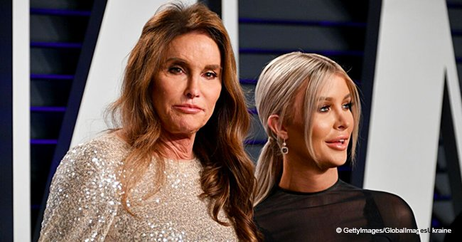 Caitlyn Jenner's Partner 'Thanks Paps' for Photos of Her Flashing Underwear in See-through Dress